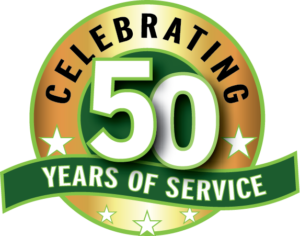 Celebrating 50 Years of Service!