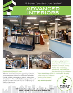 Read The Full Story On Our Project With Advanced Interiors.