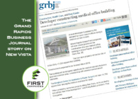 New Vista | The Grand Rapids Business Journal Story | October 2017